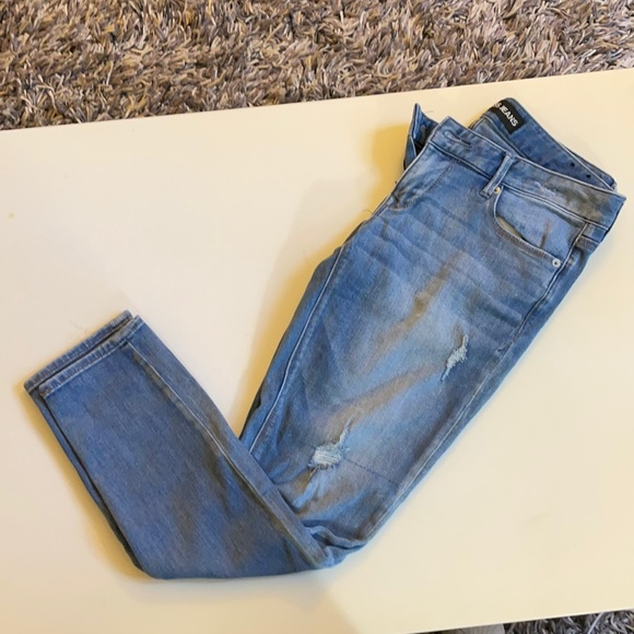 Ankle Stella low rise jeans